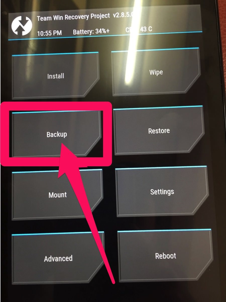 TWRP-Backup
