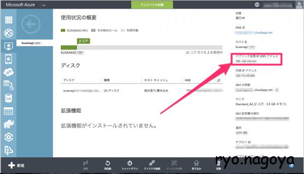 パブリック仮想 IP (VIP) アドレス
