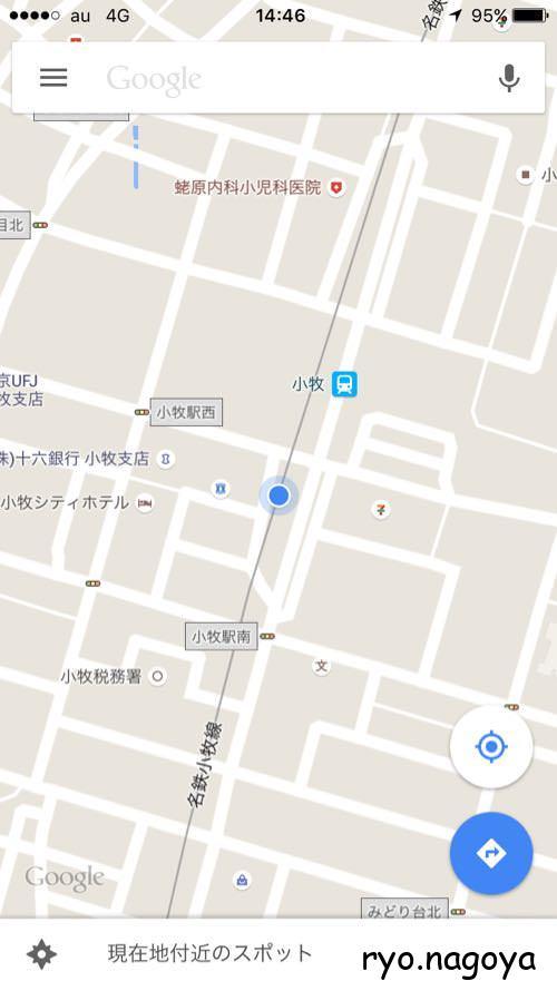 場所Googleマップ