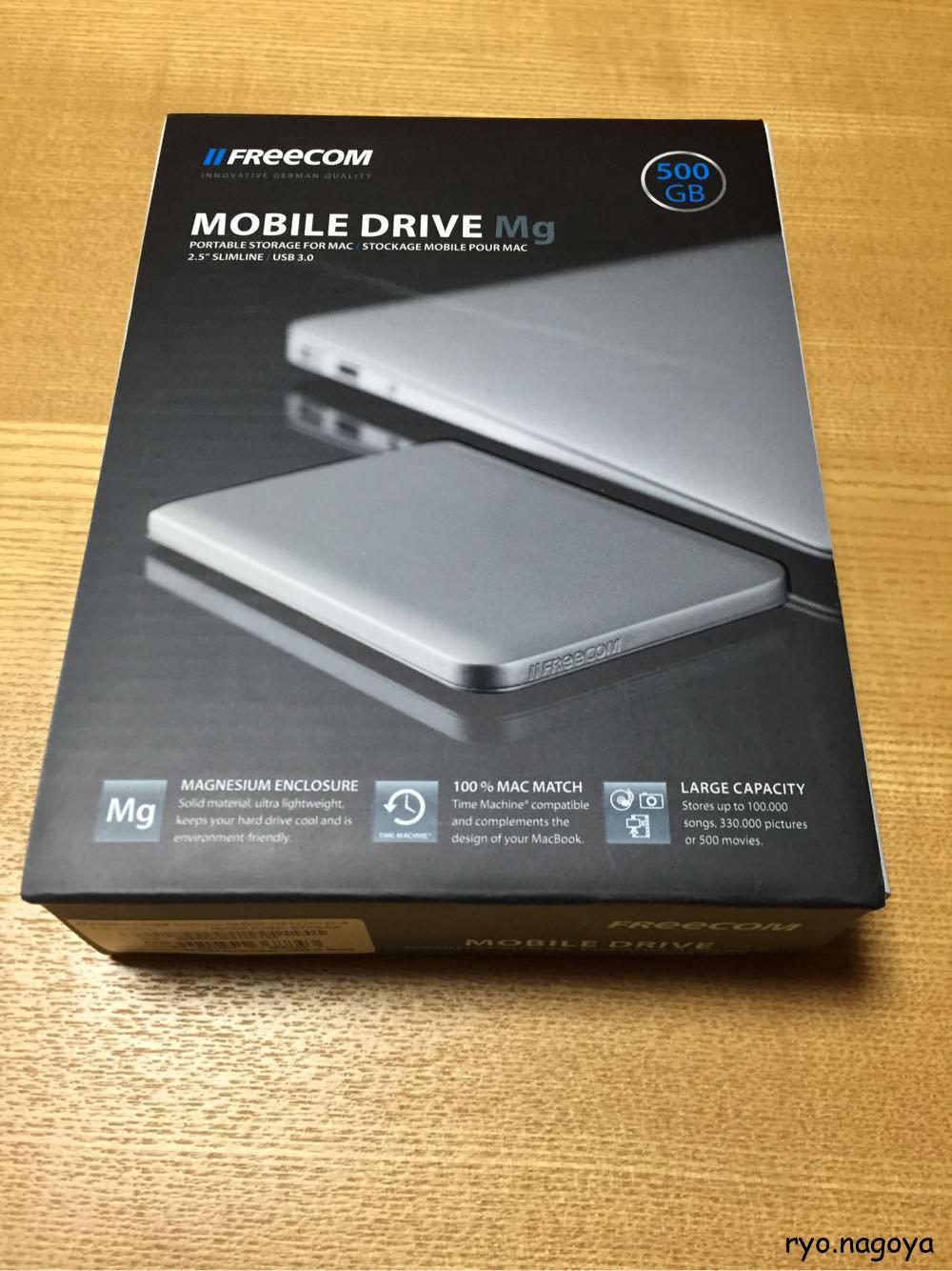 HDDの箱です