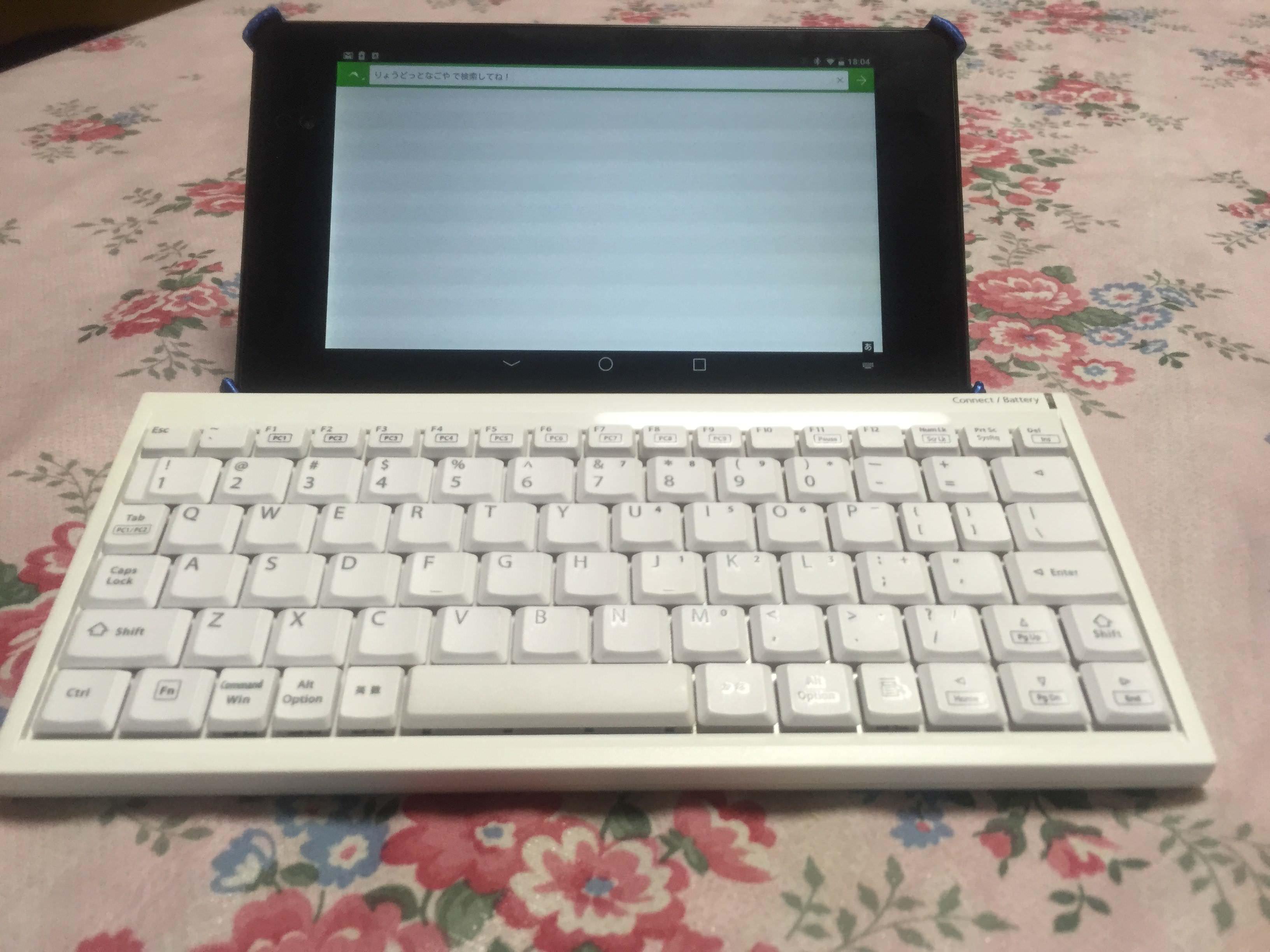 [まだ記事作成中]Nexus7 2013 を キーボードだけで使えるようにしてみる
