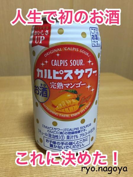「カスピスサワー」完熟マンゴー