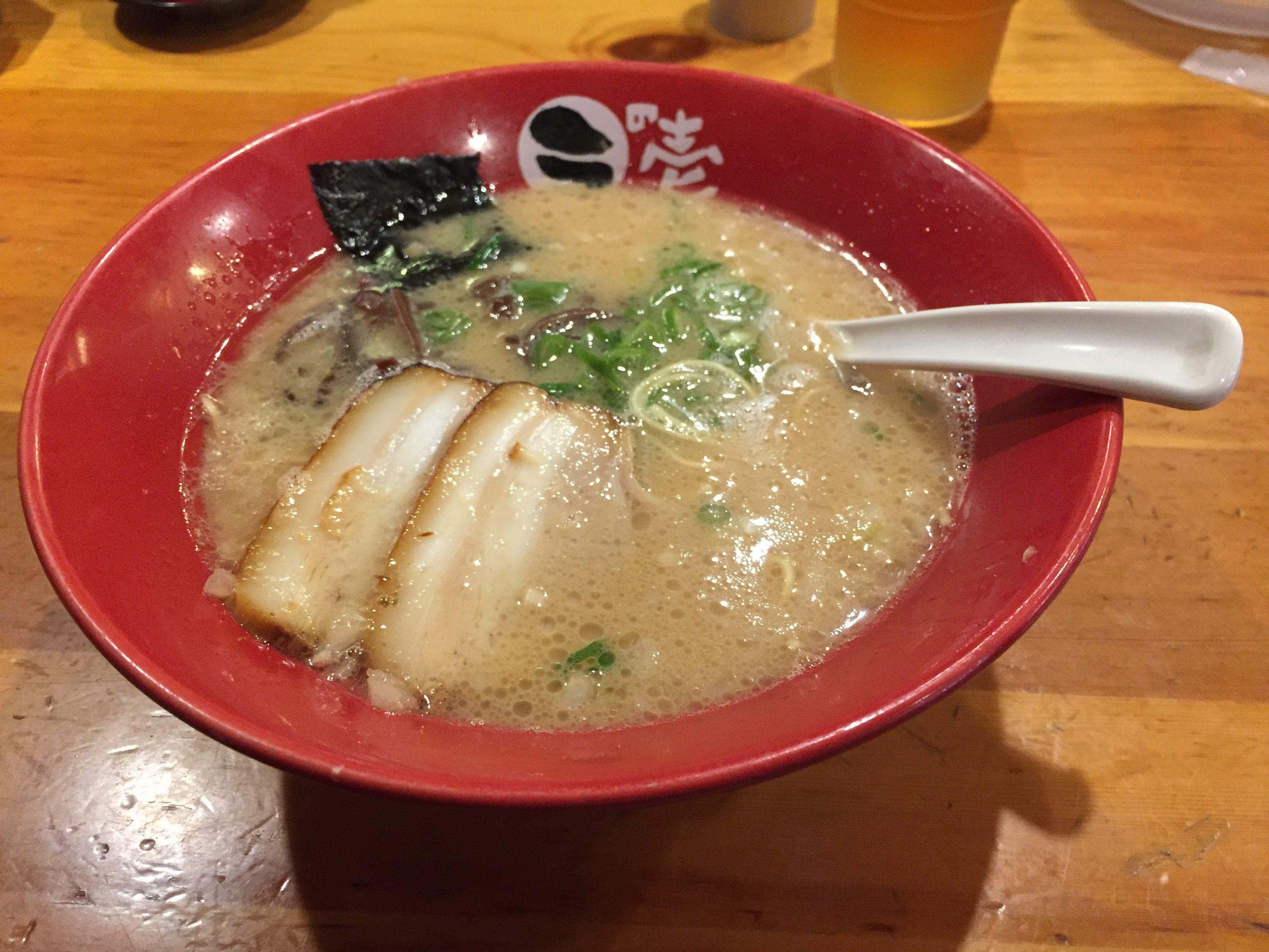 「とんこつラーメン ラの壱 春日井店」のラーメンはとても美味しかった!!