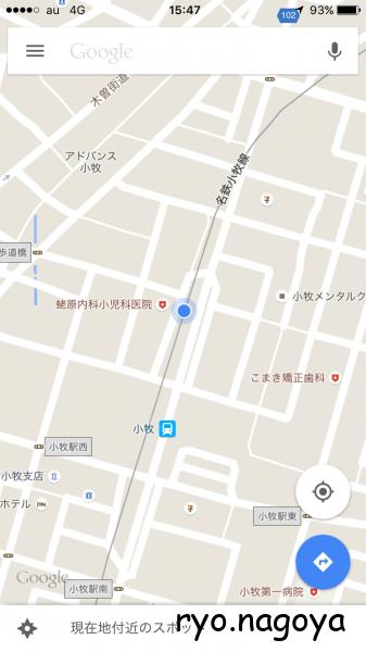 Mapだとここ